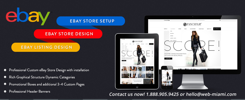 Make Your Business Stand Out With An Incredible Customized Ebay - Custom ebay store design template