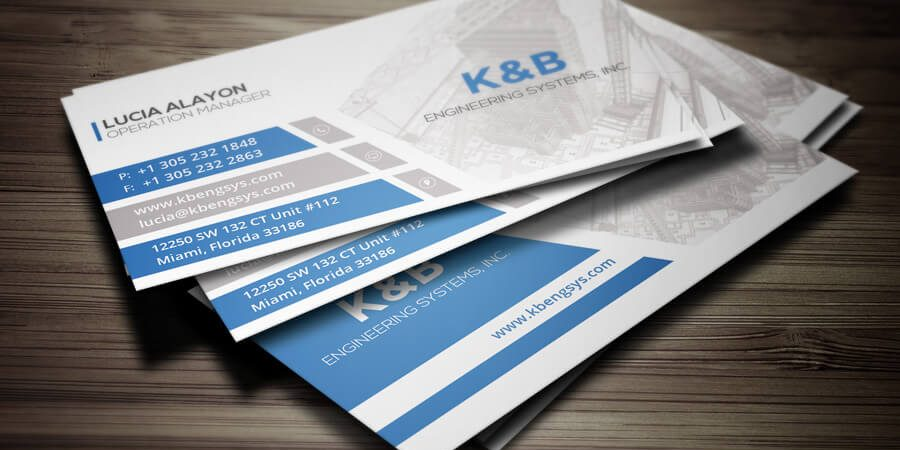 Most Important Current Trends In Business Cards Miami Designs